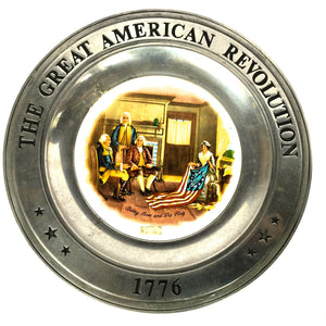 The Great American Revolution Plate 1776