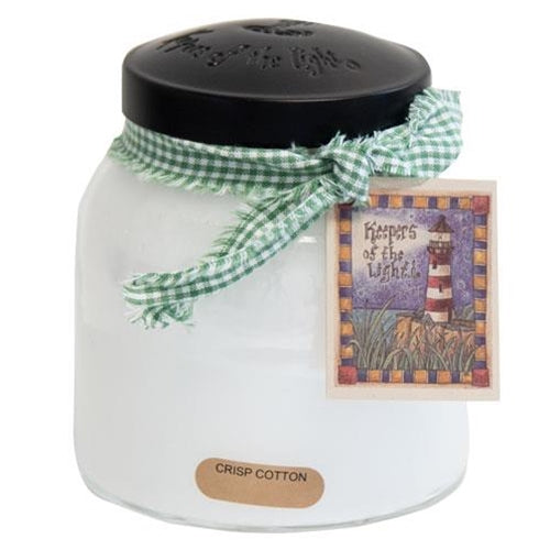 Crisp Cotton Jar Candle