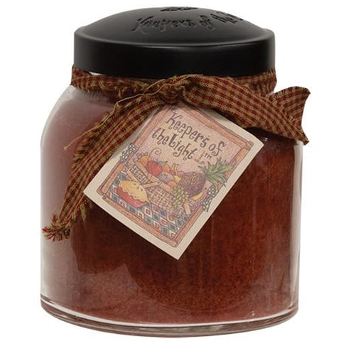 Apple Butter Papa Jar Candle