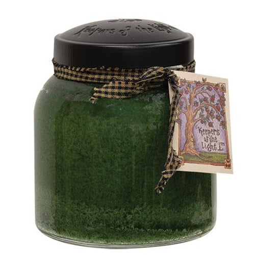 Balsam and Cedar Papa Jar Candle