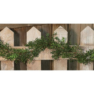 New England Boxwood Garland 6ft