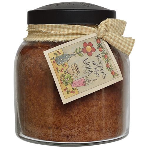 Aunt Kook's Apple Cider Papa Jar Candle