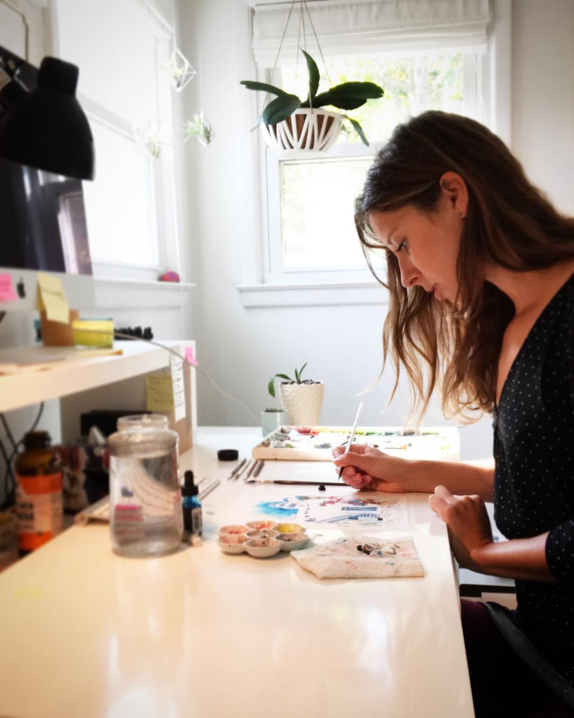 An Interview with Artist Jackie Maloney on the Inspiration Behind Her Art