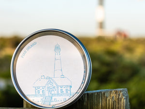 Dolce Press- Long Island Lighthouse Coaster Set (10) in Limited Edition Tin