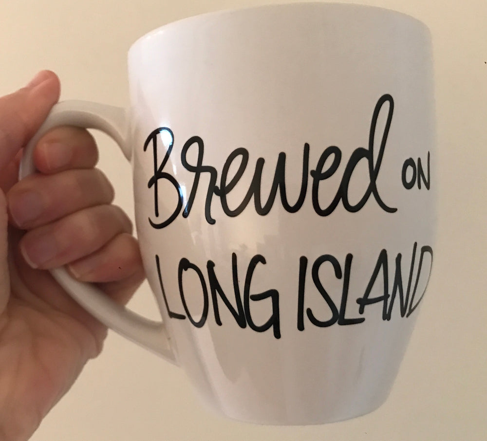 Simply Made Greetings - Brewed on Long Island Mug