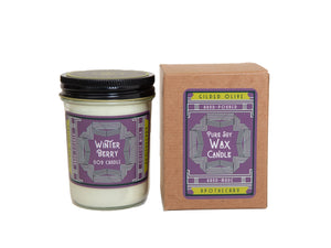 Gilded Olive Winter Berry Soy Candle