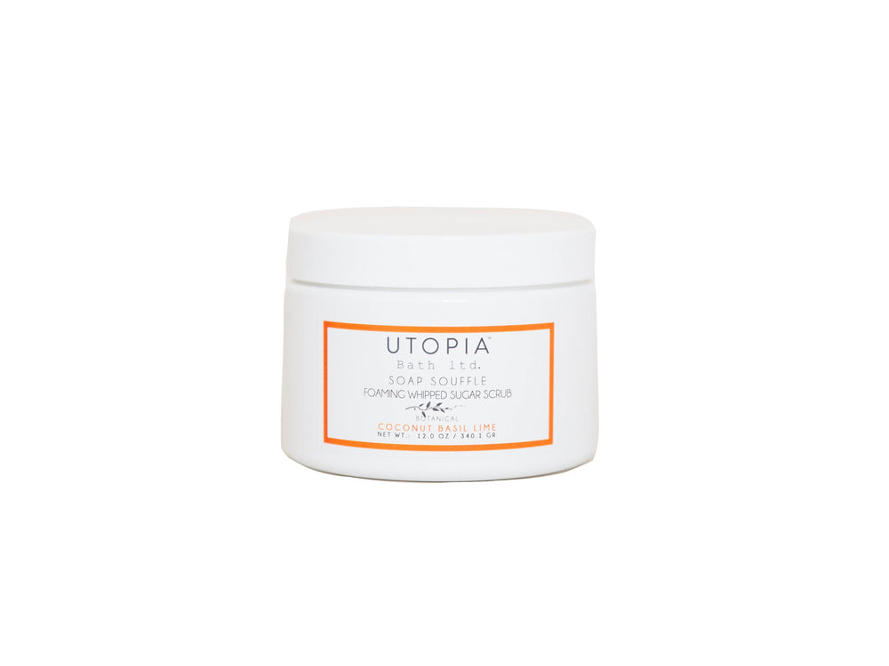 Utopia Bath Ltd Coconut, Basil, Lime Sugar Scrub