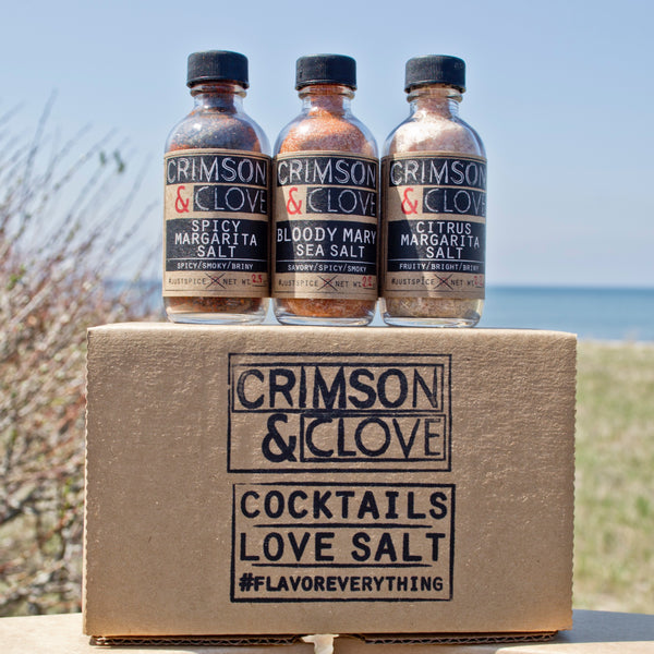 Crimson & Clove - Cocktail Salt Set