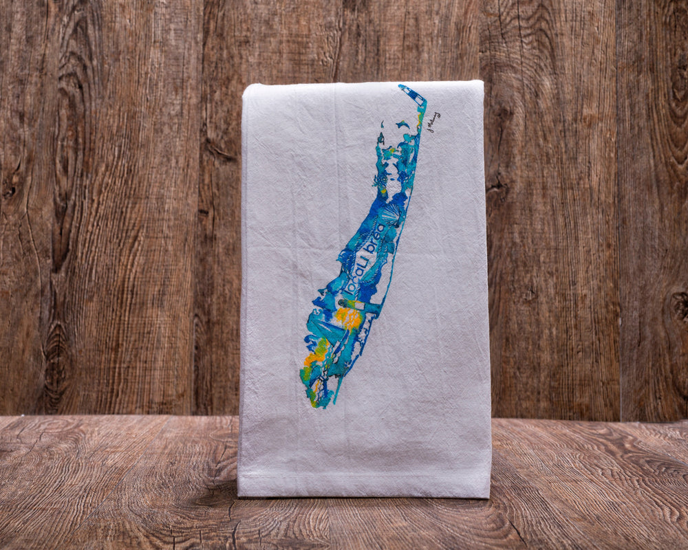 Tea Towel Long Island themed gift