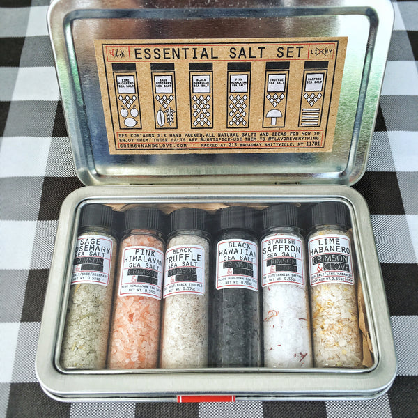 Crimson & Clove - Essential Salt Set