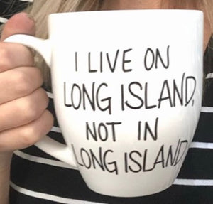 Mug Long Island themed gift
