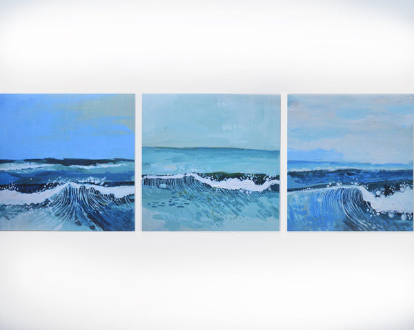 Molly Whalen - Fine Art Limited Edition Wave Print Set