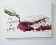 SOLD OUT Jackie Maloney Vineyards of Long Island Map Print - Merlot