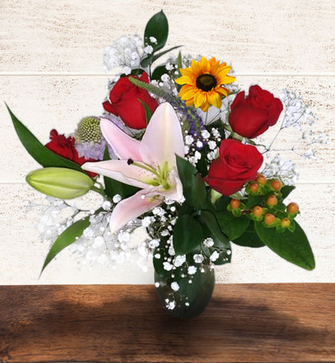 CHARMING WISH 12 STEMS | FRESH BOUQUETS