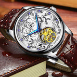 "Silver Color ""Vanderbilt"" Horse Luxury Watch on a Book - Horse Deco Store"