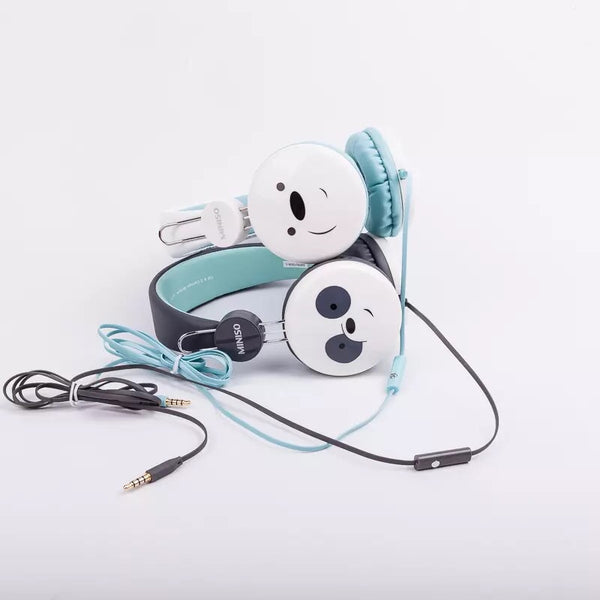 9ba7fc461d6 Miniso We Bare Bear Headphone With Mic – GetawayShopaholic