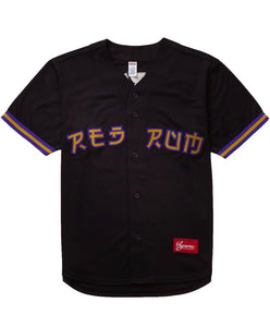 Supreme Red Rum Baseball Jersey