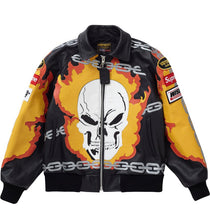Load image into Gallery viewer, Supreme Vanson               Ghost Rider Leather Jacket