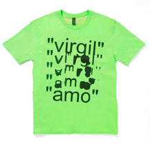 Load image into Gallery viewer, Virgil Abloh MCA Virgil AMO T-Shirt