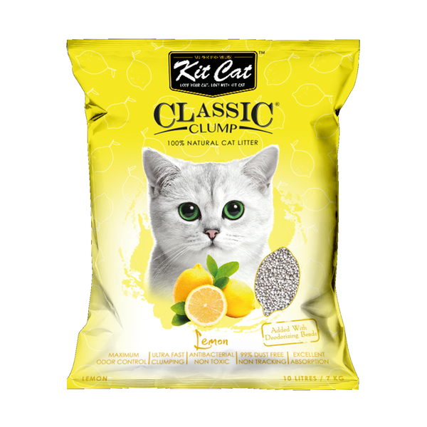 Kit Cat Classic Clump Lemon Cat Litter