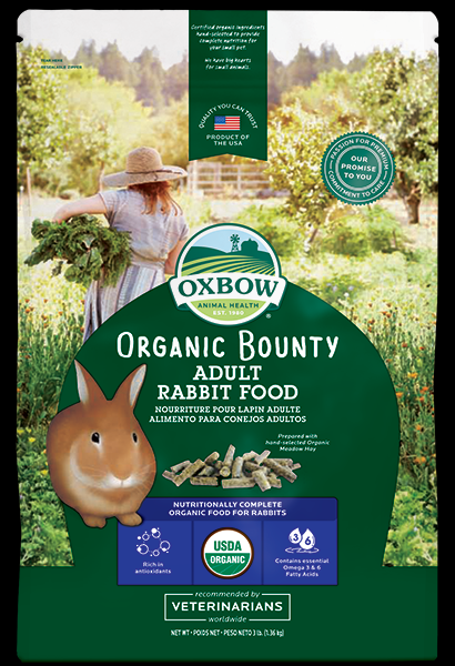 Oxbow Organic Bounty Adult Rabbit Food