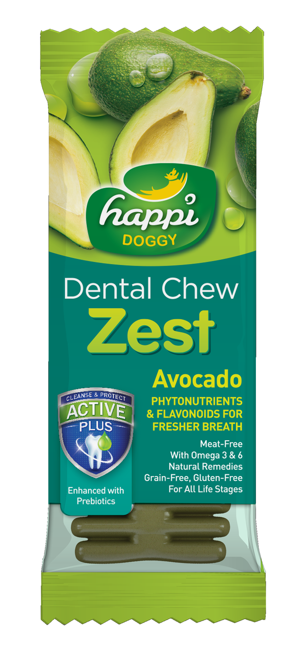 Happi Doggy Avocado Zest Dental Chew