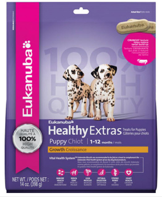 Eukanuba Healthy Extras Puppy Growth Dog Biscuits