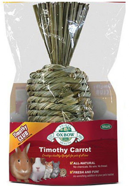 Oxbow Timothy Carrot Accessories for Small Animals