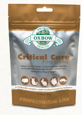 Oxbow Critical Care Fine Grind Papaya Flavor for Small Animals