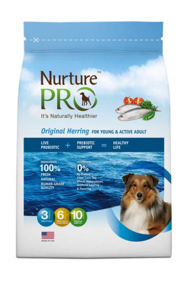 Nurture Pro Original Herring for Young and Active Adult Dry Dog Food