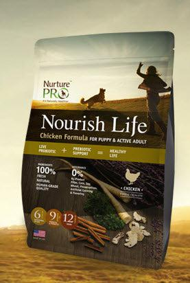 Nurture Pro Nourish Life Chicken for Puppy and Adult Dry Dog Food