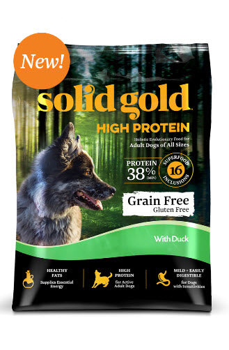 Solid Gold High Protein Duck Dry Dog Food