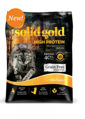 Solid Gold High Protein with Chicken Dry Cat Food
