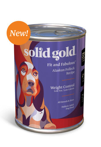 Solid Gold Fit and Fabulous Alaskan Pollock Recipe Canned Dog Food