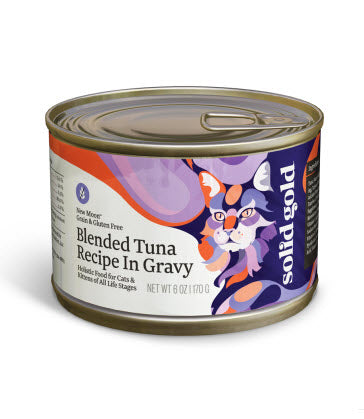 Solid Gold New Moon Blended Tuna Canned Cat Food