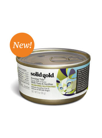 Solid Gold Evening Tide Tuna & Sardine Classic Paté Cat Food