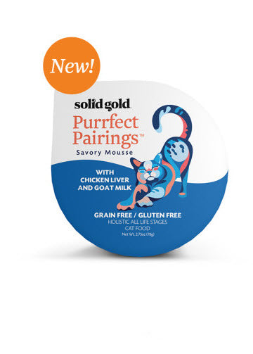 Solid Gold Purrfect Pairings Chicken Liver & Goat Milk Cup Cat Food