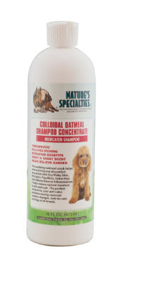 Nature's Specialist Colloidal Oatmeal Shampoo for Dogs Cats Pets
