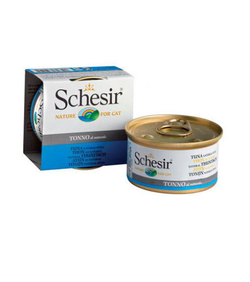 Schesir Natural Tuna in Water Canned Cat Food