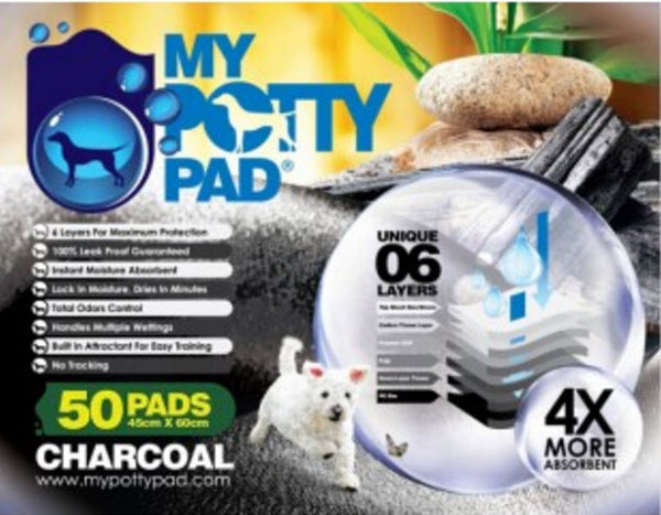 My Potty Charcoal Pad (Small - 100pc)