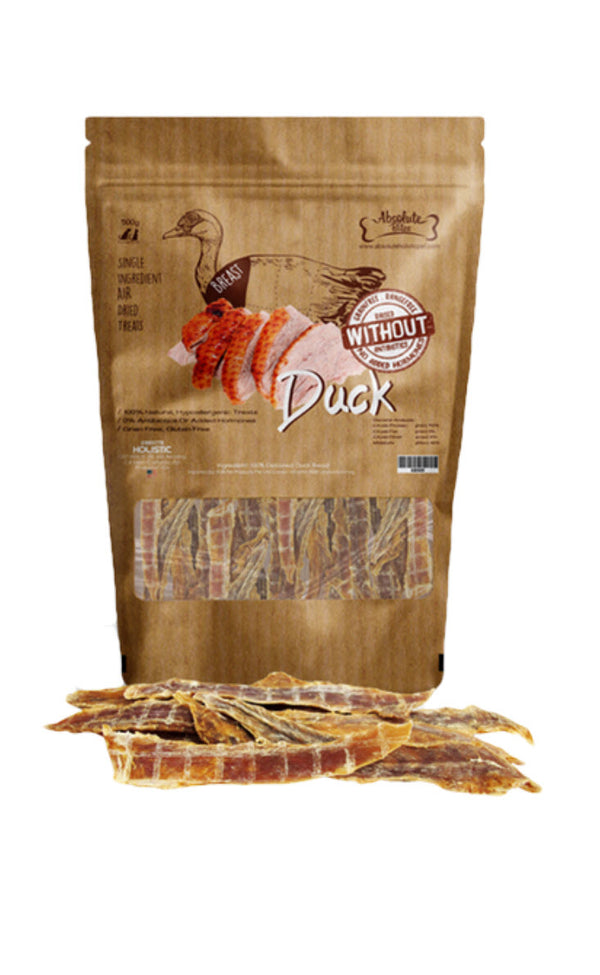 Absolute Bites Air Dried Duck Breast Treats