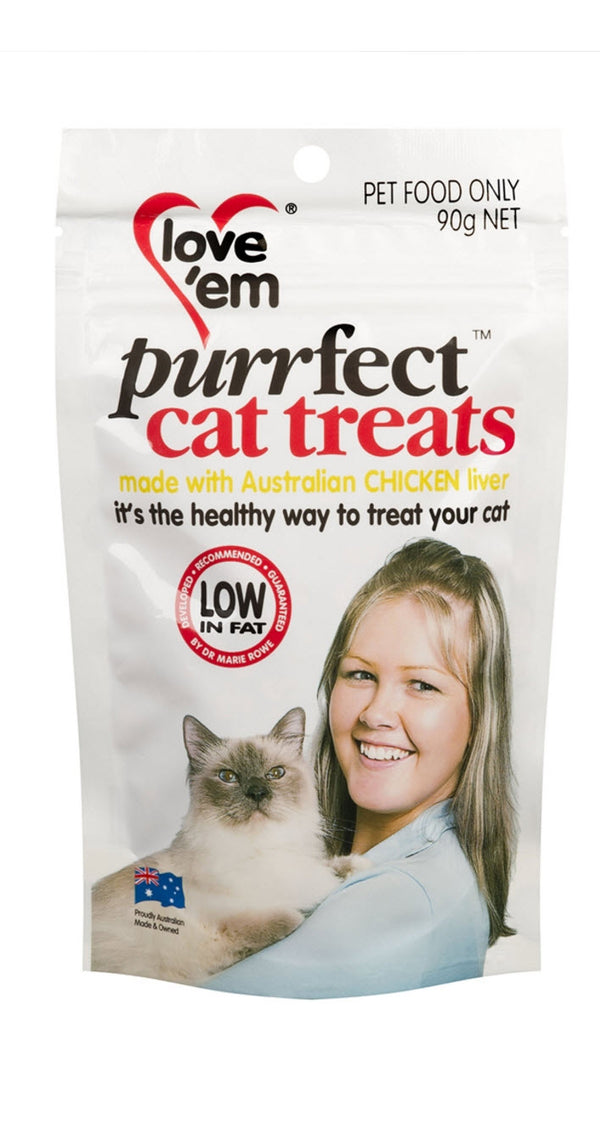 Love Em Purrfect Chicken Liver Treats For Cats