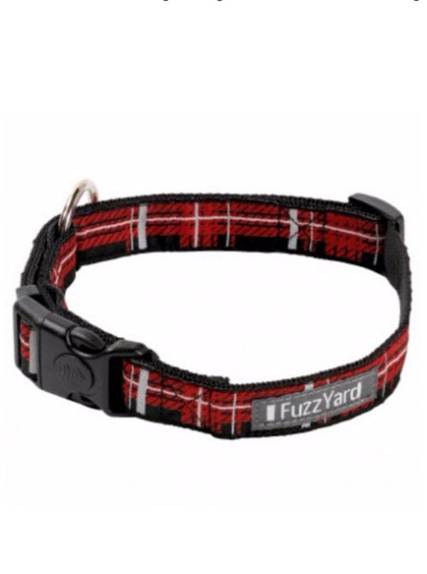 FuzzYard Collar (Red Fling) for Dogs Pets