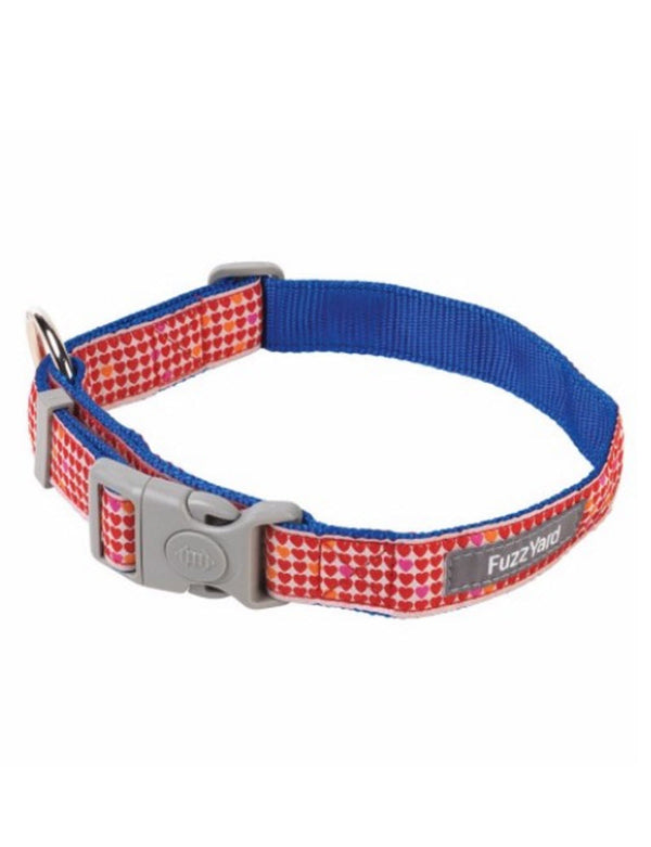 FuzzYard Collar (Love Love) for Dogs Pets