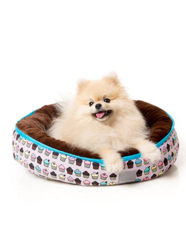 FuzzYard Reversible (Fresh Cupcake) Dog Bed