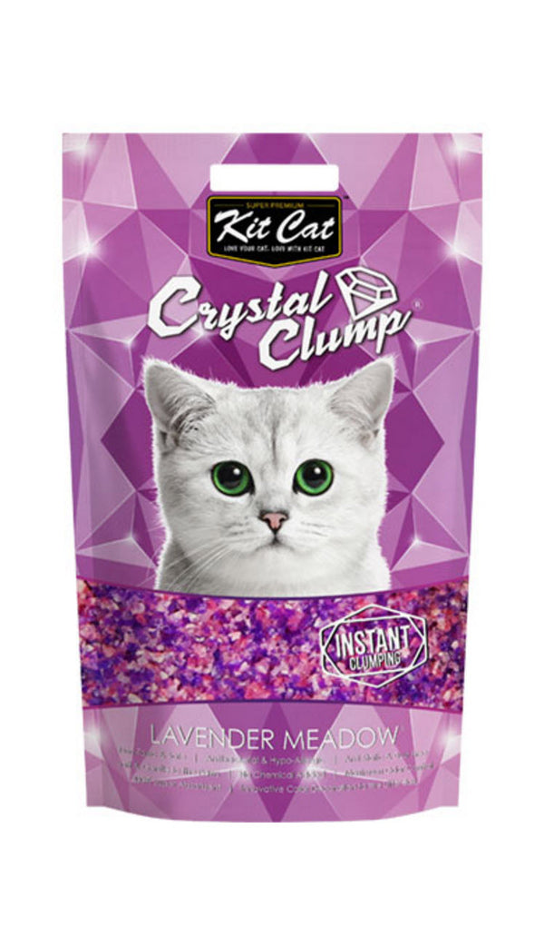 Kit Cat Crystal Lavender Meadow Cat Litter