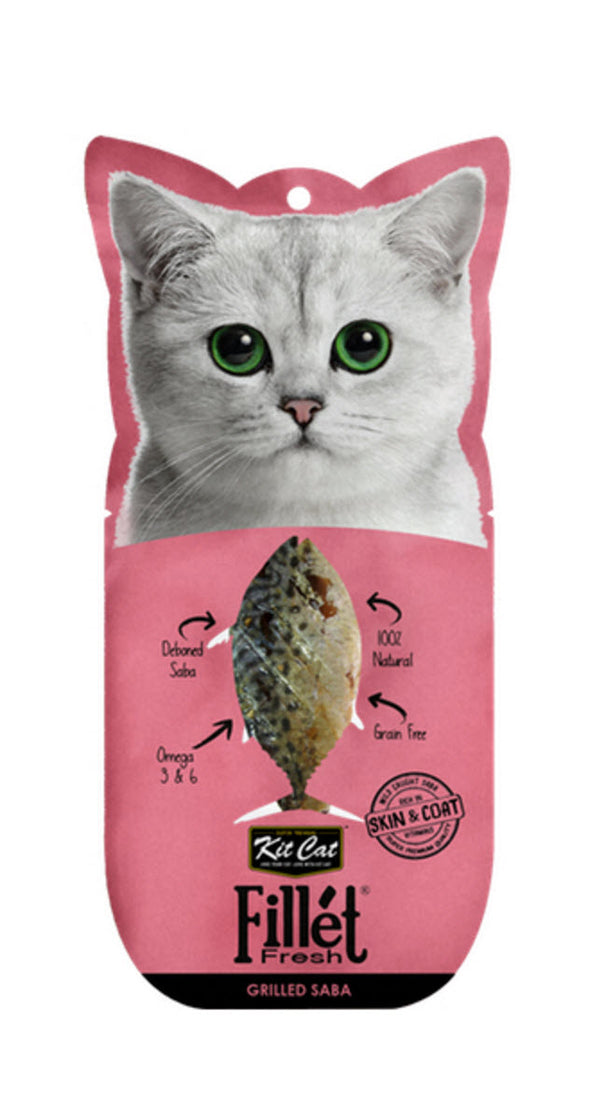 Kit Cat Fillet Fresh Grilled Mackerel Cat Food