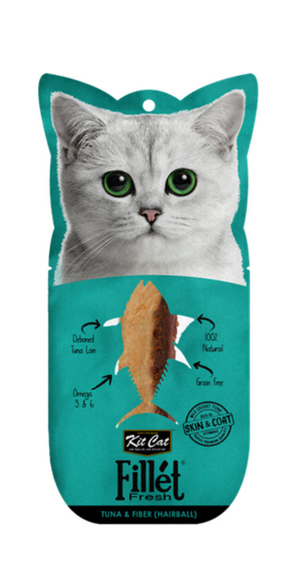 Kit Cat Fillet Fresh Tuna & Fiber (Hairball Control) Cat Food