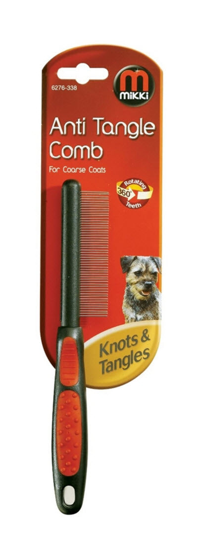 Mikki Anti Tangle Comb Coarse Coats