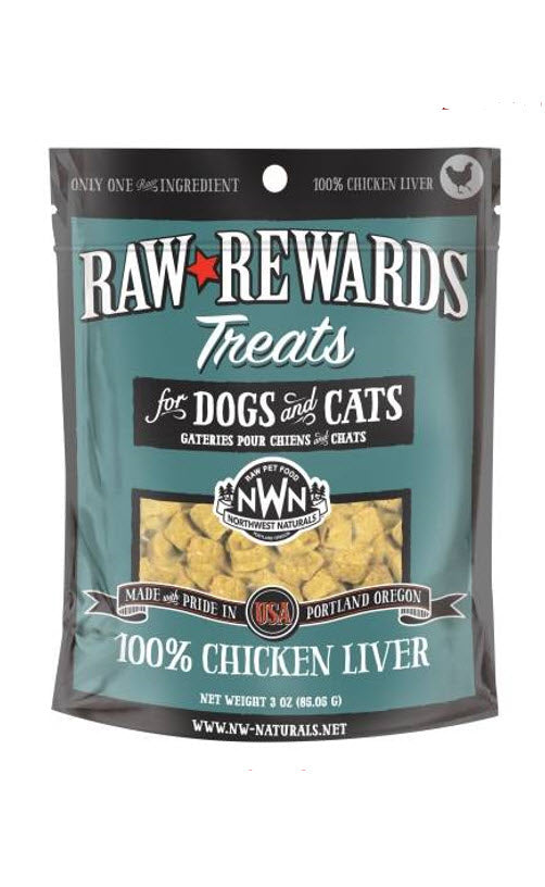 Northwest Freeze Dried Chicken Liver Dog Cat Treats